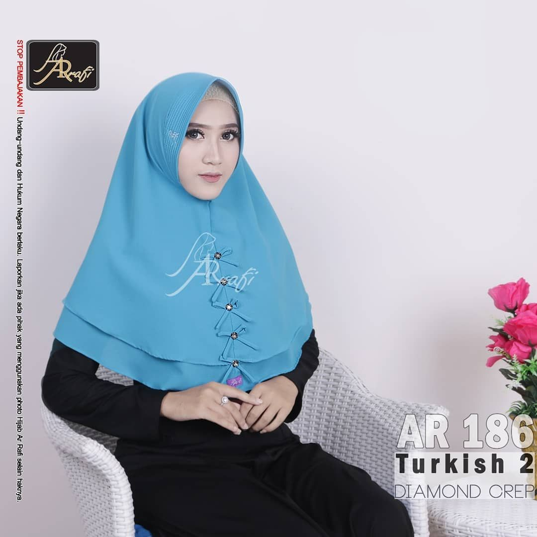 Wa 081 542 846 069 Hijab Ar Rafi Ar 186 Bahan Diamond Creppe
