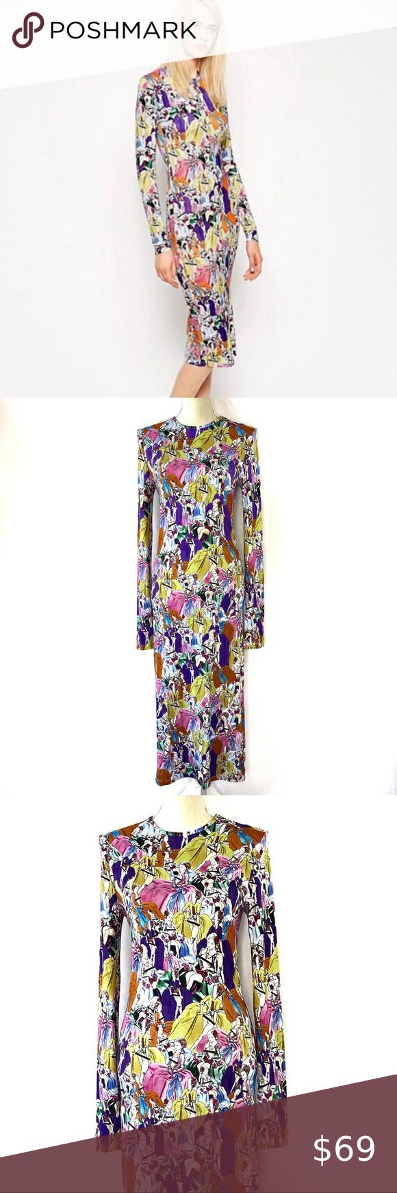Risque Dress House Of Holland Size 8 House Dress Long Sleeve Midi Dress Girls Dresses Size 8 [ 1740 x 580 Pixel ]