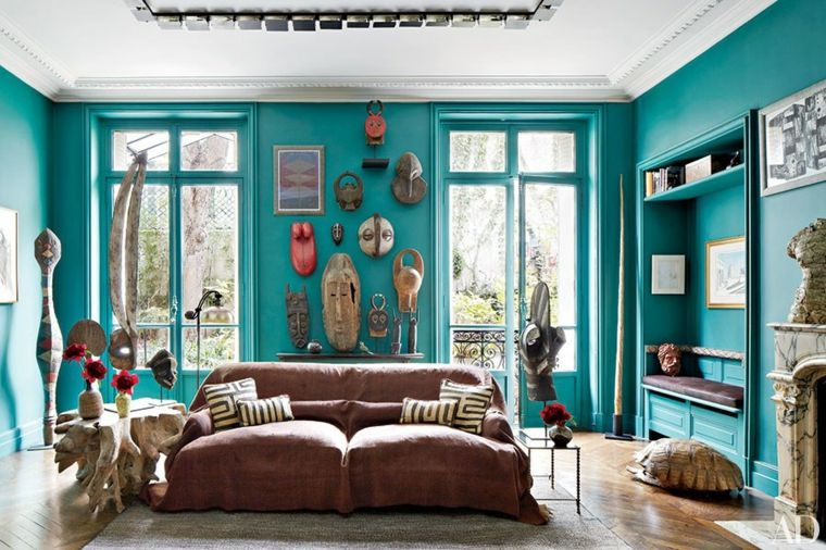 Color aguamarina - la tonalidad de moda para el 2017 - Boho