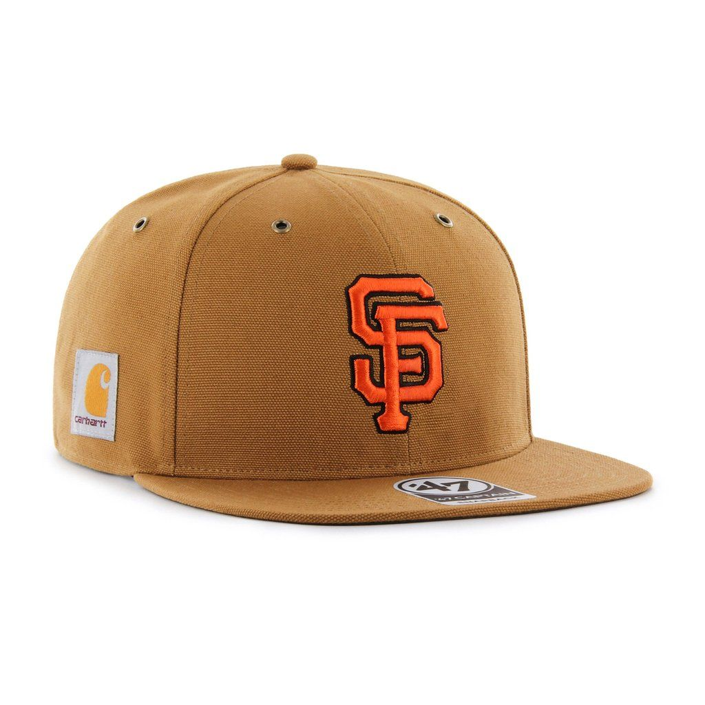 0066052a2075a4 SAN FRANCISCO GIANTS CARHARTT X '47 CAPTAIN | '47 – Sports lifestyle brand  | Licensed NFL, MLB, NBA, NHL, MLS, USSF & over 900 colleges. Hats and  apparel.