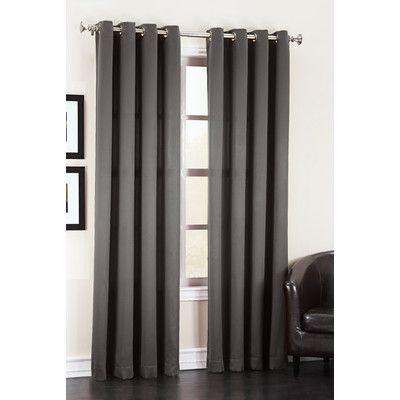 Basics Wayfair Basics Solid Room Darkening Grommet Curtain Panel Grommet Curtains Panel Curtains Curtains