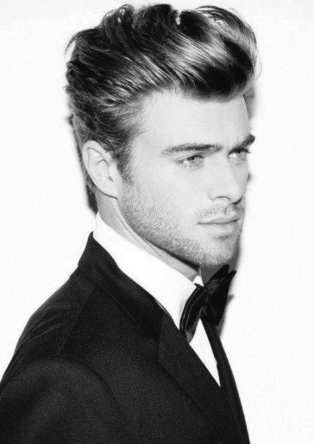 Gute Frisuren Für Männer Mit Dicken Haaren Bilder Männer Frisuren