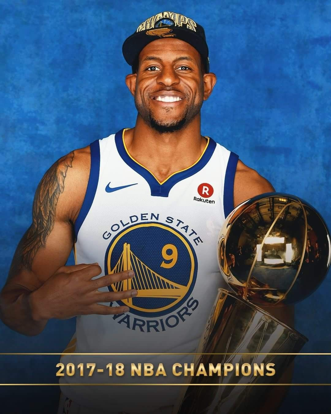 Andre 9 2018 nba champions, Nba champions, Golden state