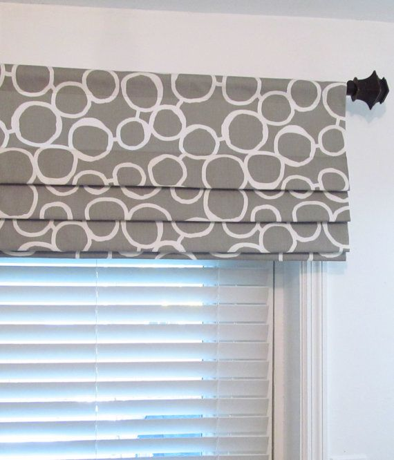 Custom Made Mock Roman Valance Faux Roman By