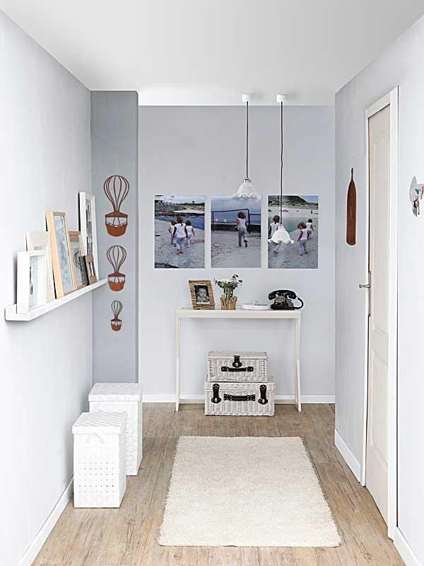 Un pasillo moderno y luminoso decorado al detalle Pinterest
