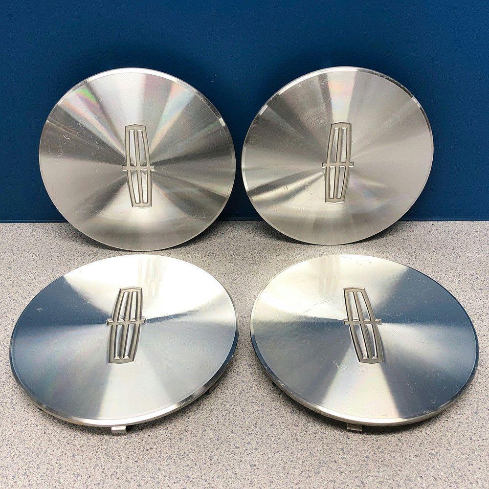 95 97 lincoln town car 3126 16x7 16 spoke wheel rim center caps set lincoln center caps hubcaps [ 1000 x 1000 Pixel ]
