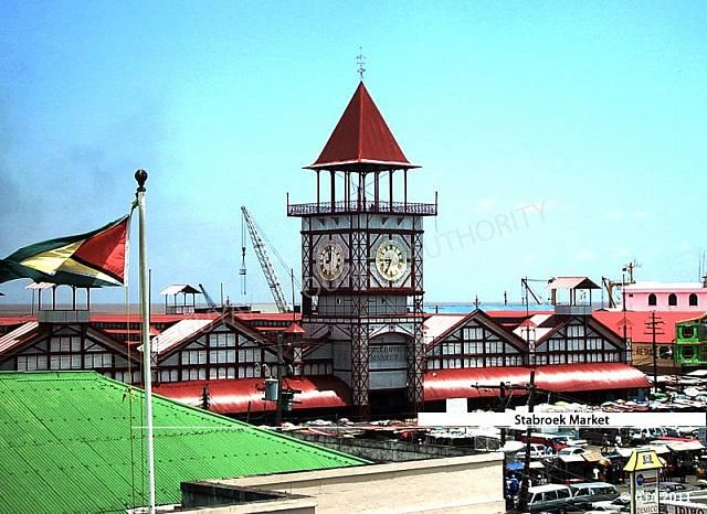 Stabroek Market in Georgetown - one of the landmarks of the city.