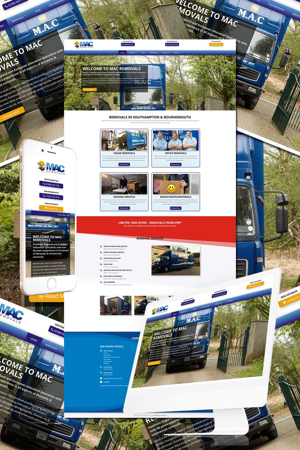 The New Website For Mac Removals In Southampton Bournemouth Thank You To Melissa At Craftworx Carpentry For This 4th R How To Remove Southampton Web Design
