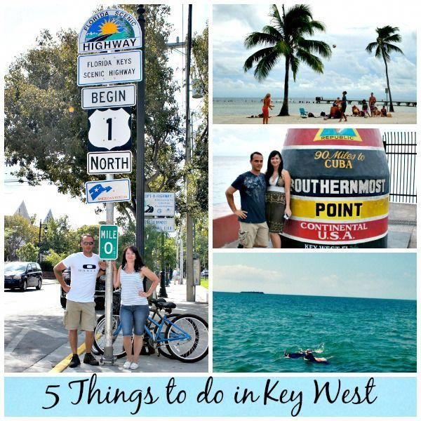key west family vacation activities