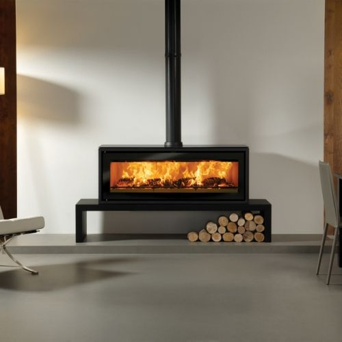 Stovax Riva Studio 3 Rural Freestanding Wood Fire Package Turfrey Plumbing Gasfitting Roofing Heating Drainage Contemporary Wood Burning Stoves Modern Wood Burning Stoves Wood Heater