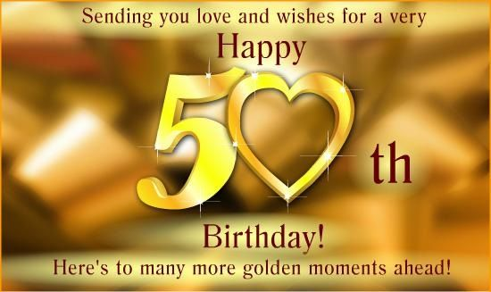 50th Birthday Wishes Birthday Cards Wishes Images Messages