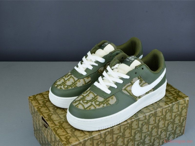 Nike Air Force 1 Dior Olive Green Custom Nike Air Force Air Force Nike Air From the classic air force 1 low to the retro air force 180, buy and sell every nike air force release now on stockx. nike air force 1 dior olive green