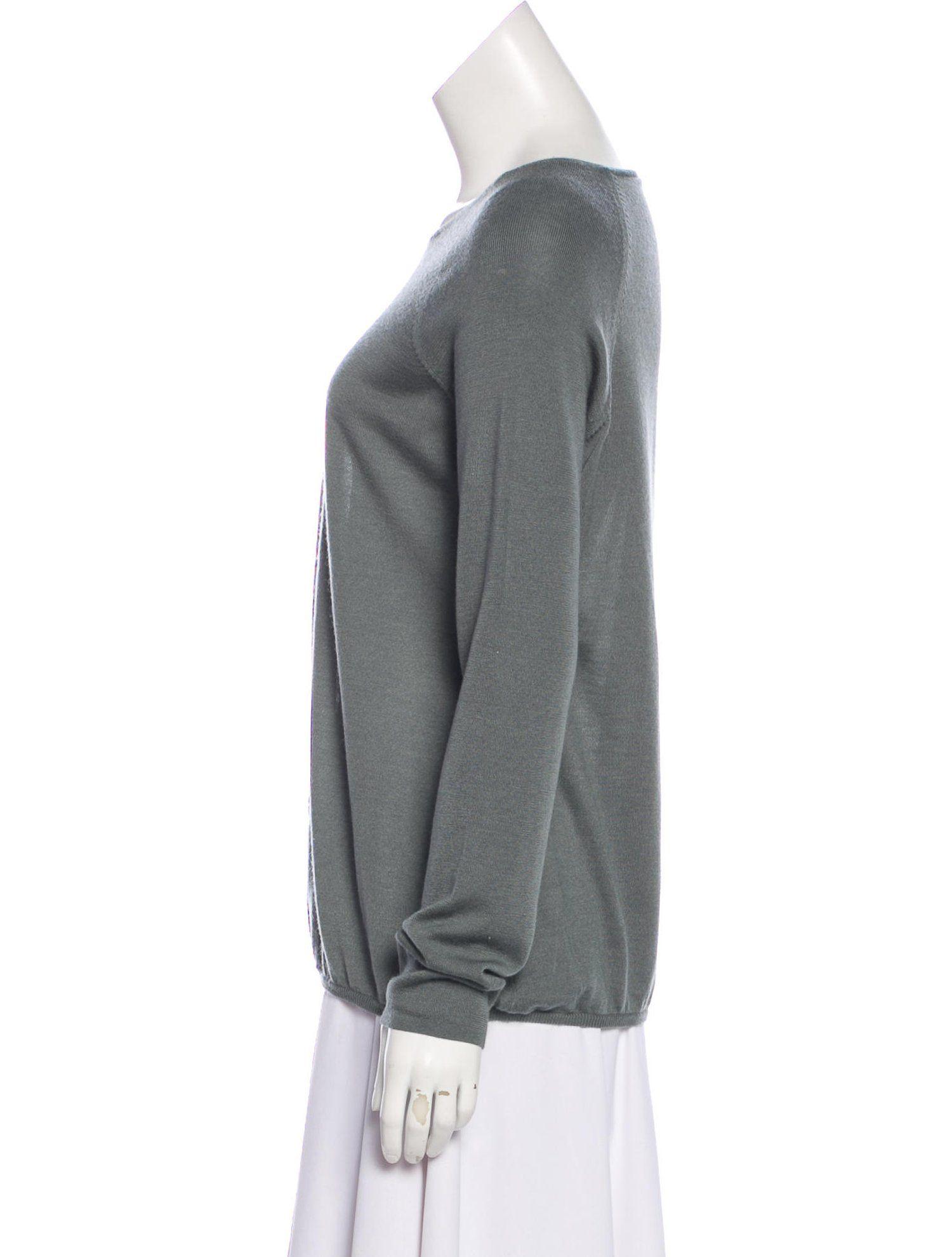 9924324fbd Akris Punto Long Sleeve Cashmere-Blend Sweater  Long  Punto  Akris