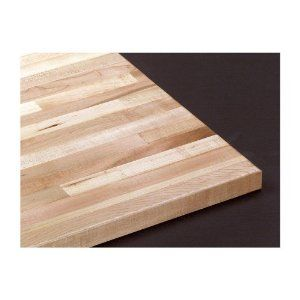 Grizzly Solid Maple Butcher Block Top Is 1 3 4 Thick And Is 36x24