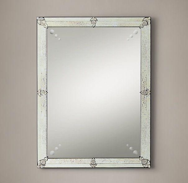 19th C French Layered Gl Mirrors Restoration Hardware 30 X 40 775