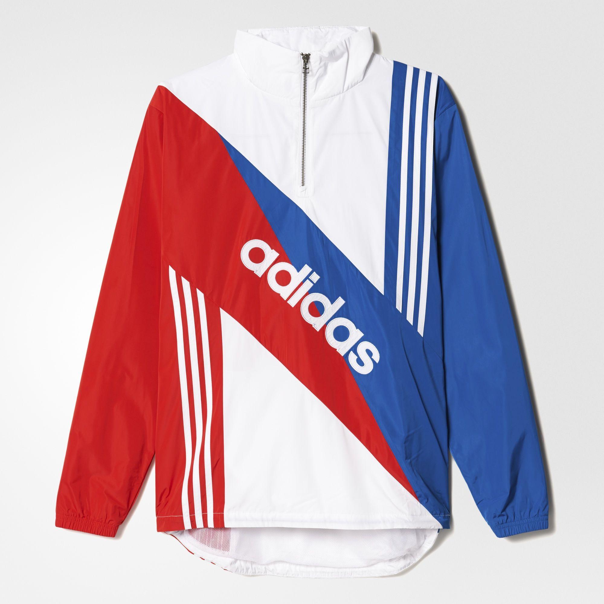 Rompevientos Retro Linear | Wear me | Adidas, Raincoat