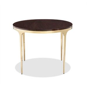 Camilla Center Dining Table In Figured Eucalyptus Design By