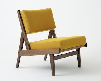 Mid Century Modern Armless Chair | Shapeyourminds.com