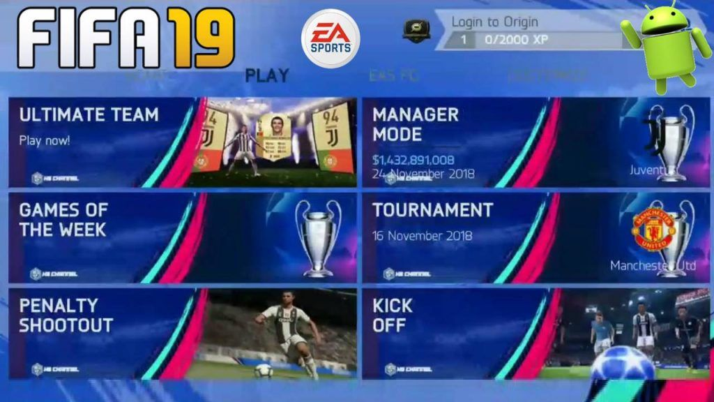 FIFA 19 Offline Android Fix Patch Game Download | เกม