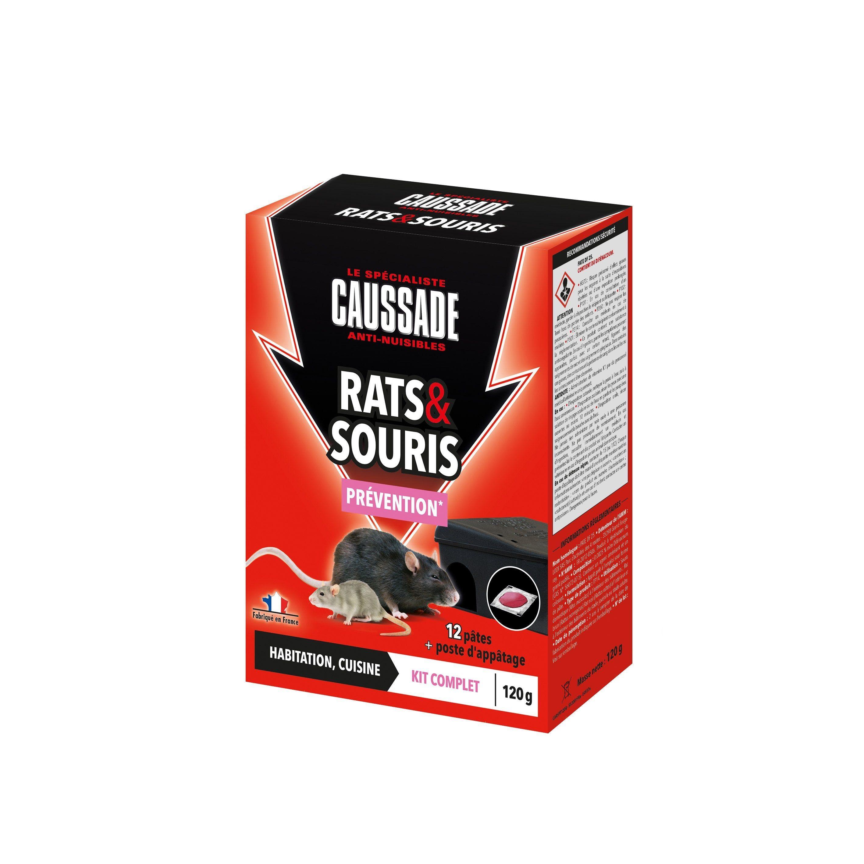 Pate Antirats Et Souris Caussade 120g Souris Produits Moustique