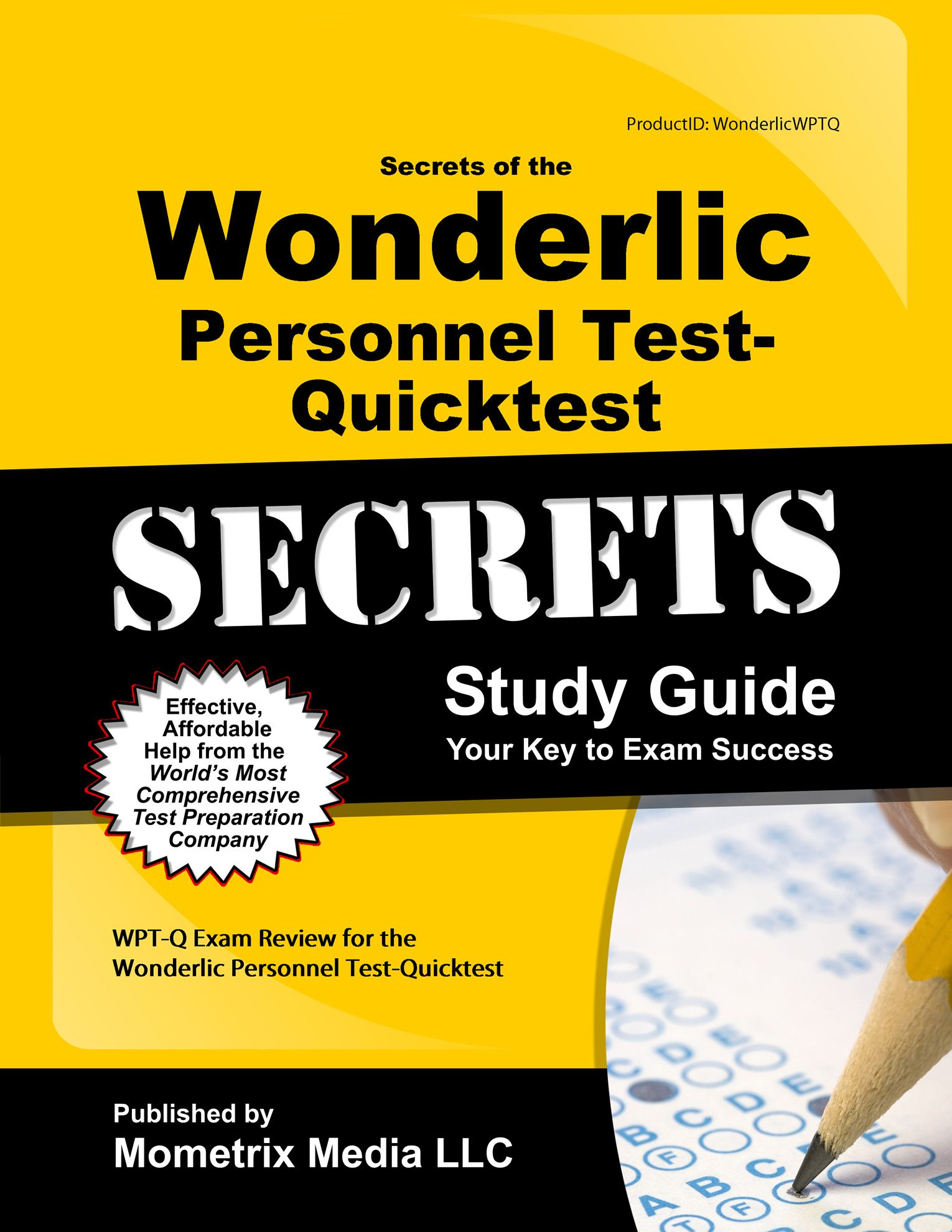 Wonderlic Personnel Test- Quicktest Study Guide http://mo-media.com/ wonderlic/ #wonderlic