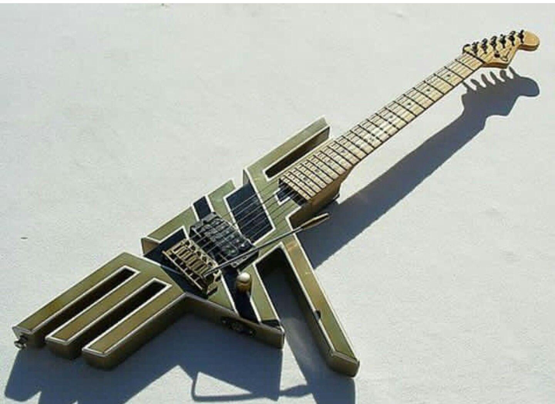 Pin by Michael Jones on Guitars Van halen, Cool guitar