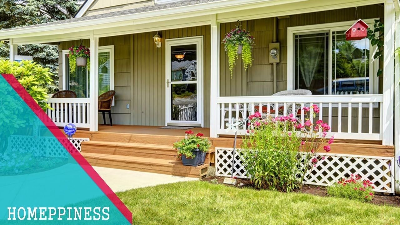Simple Front Porch Design Ideas Homeppiness Front Porch Design Porch Design House With Porch