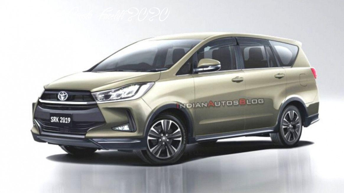 Toyota Innova Crysta Facelift 2020 Model In 2020 Toyota Innova Lexus Lfa Toyota