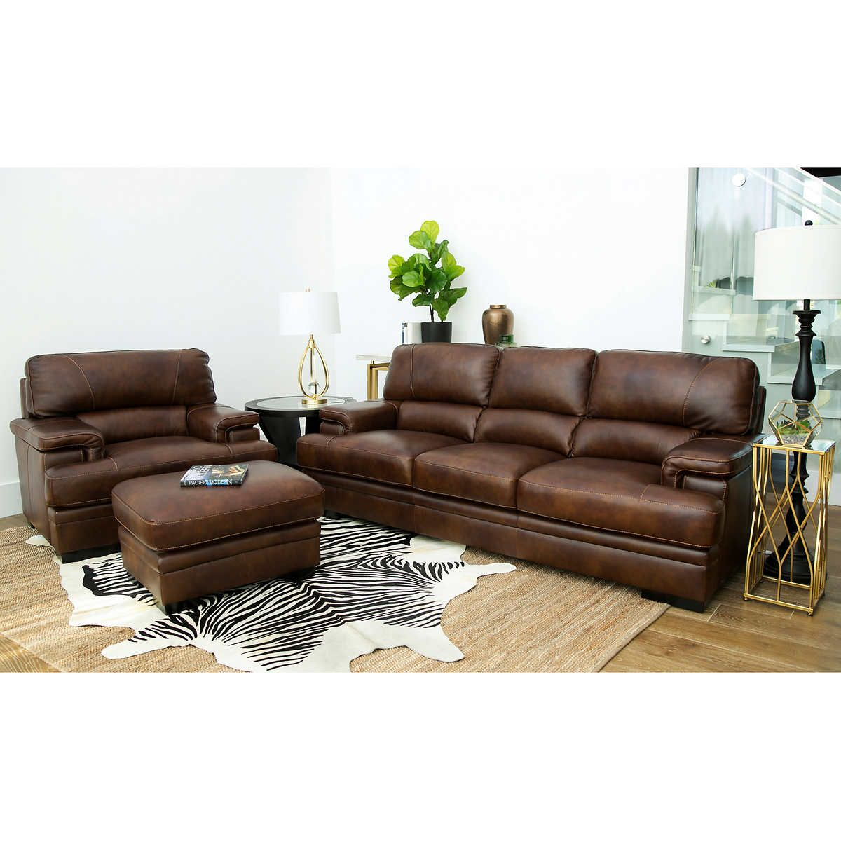 Image by Jeska Green on Home Sweet Home Leather sofa and