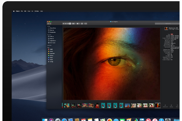 WWDC 2018 Apple intros macOS Mojave with Dark Mode, Group