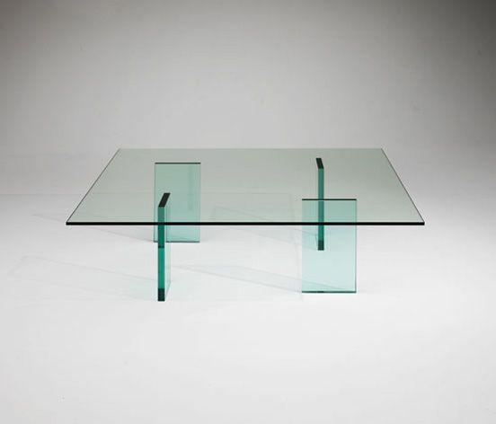 Glass Table by Shiro Kuramata