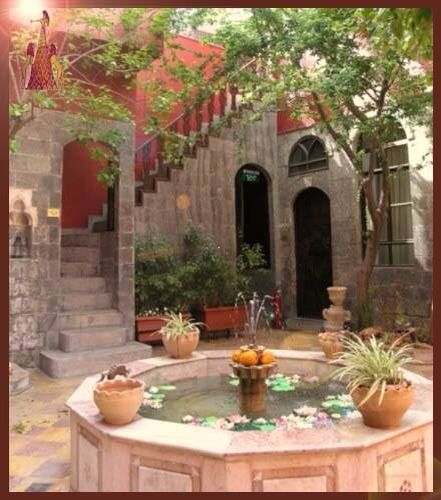 #fountains in old house #Aleppo. Its like dream