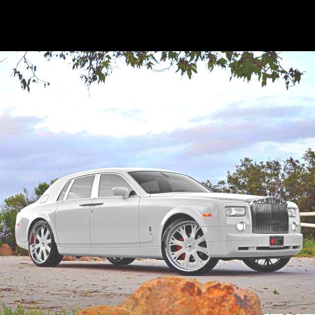 Rolls Royce Phantom...beauty.