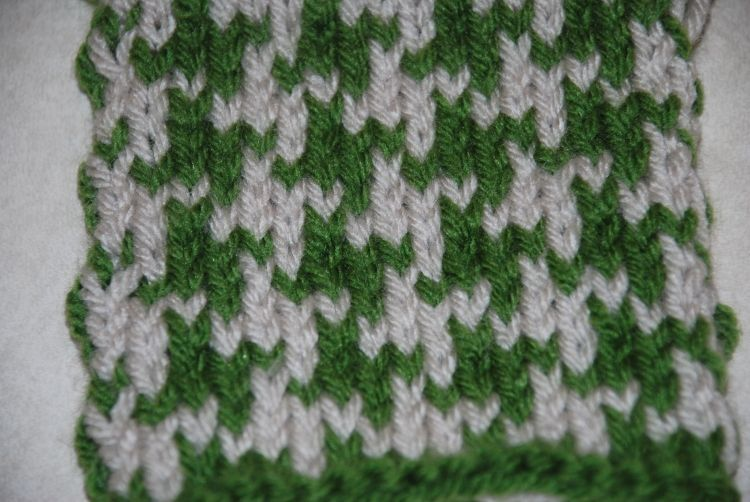 How to Knit a Houndstooth Pattern | Houndstooth, Knit patterns and Yarns