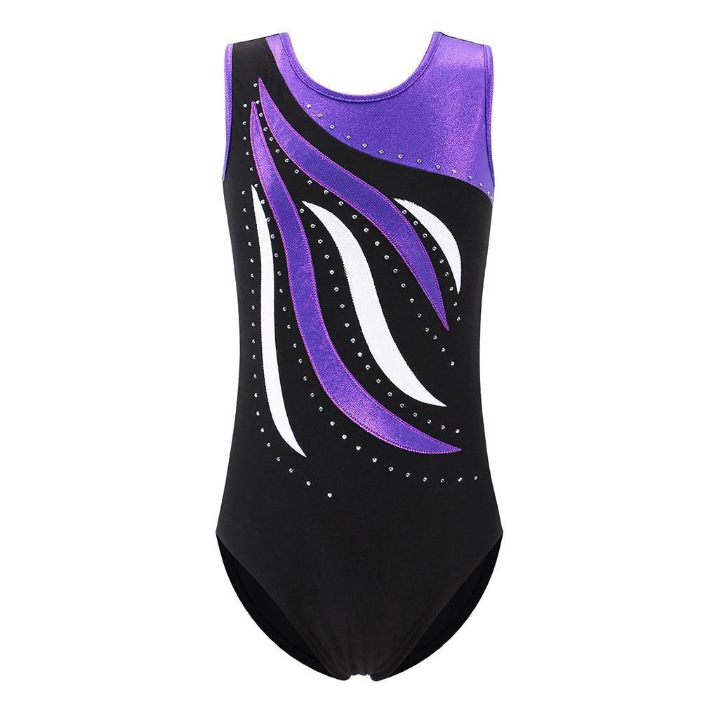 32107d7f6 BAOHULU Sleeveless Tank Leotards Gymnastic Leotards Girls Ballet ...