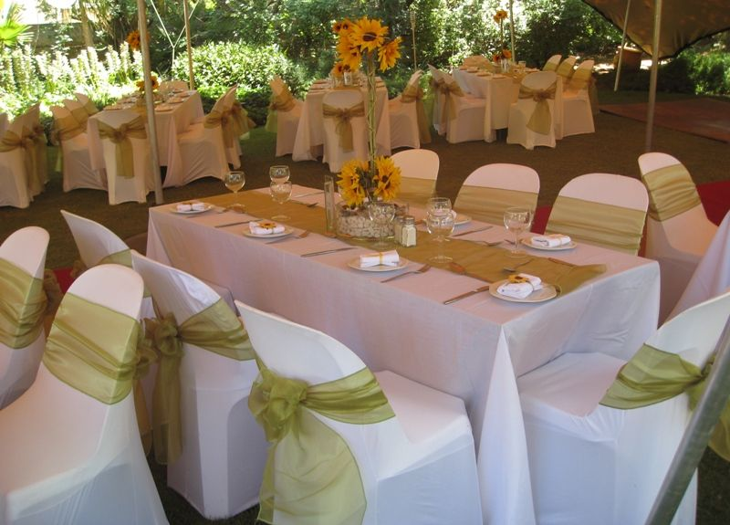 chair covers party hire corner wedding decor function tiebacks