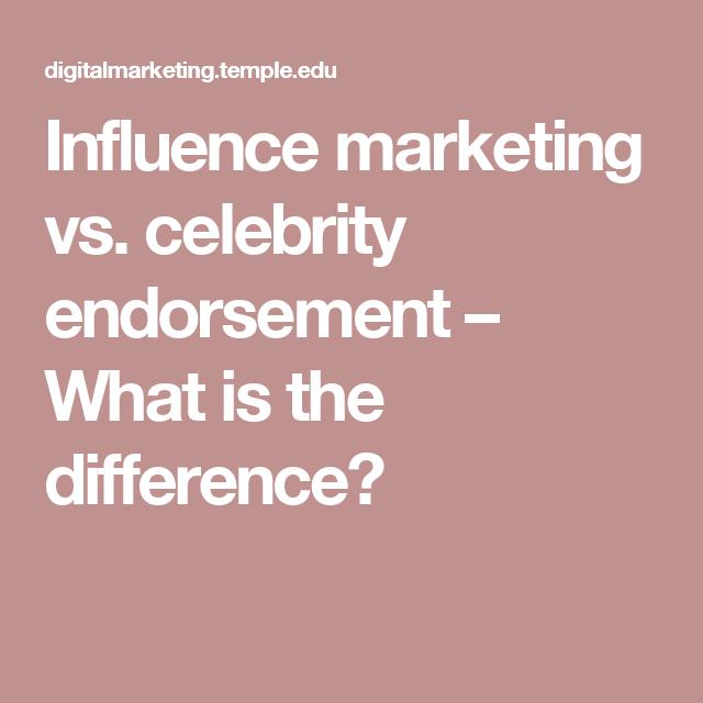 influencer endorsment