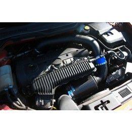 Mototec Air Intake System - Blue Silicone Hoses - S40 V50