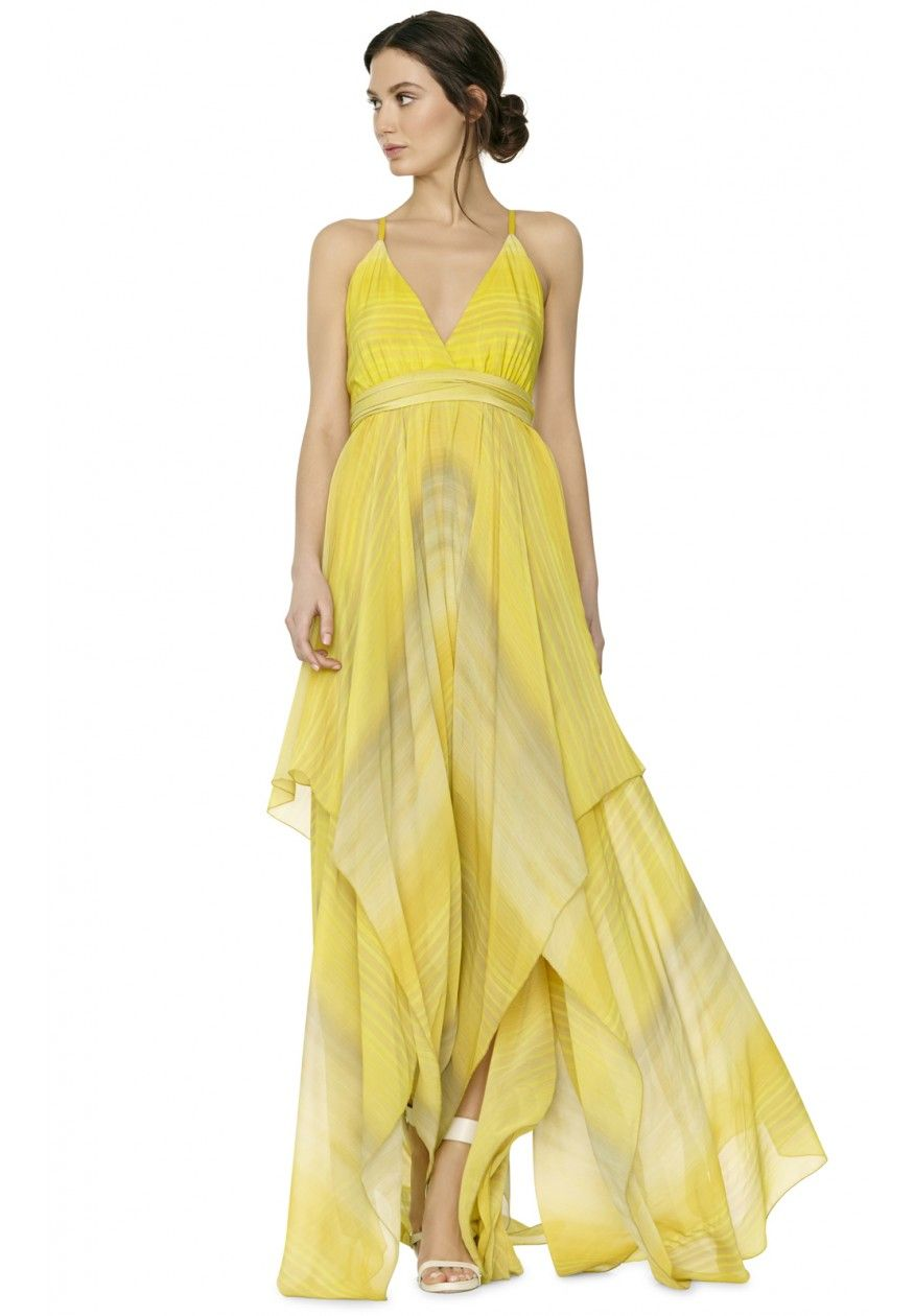 How to yellow a wear prom dress