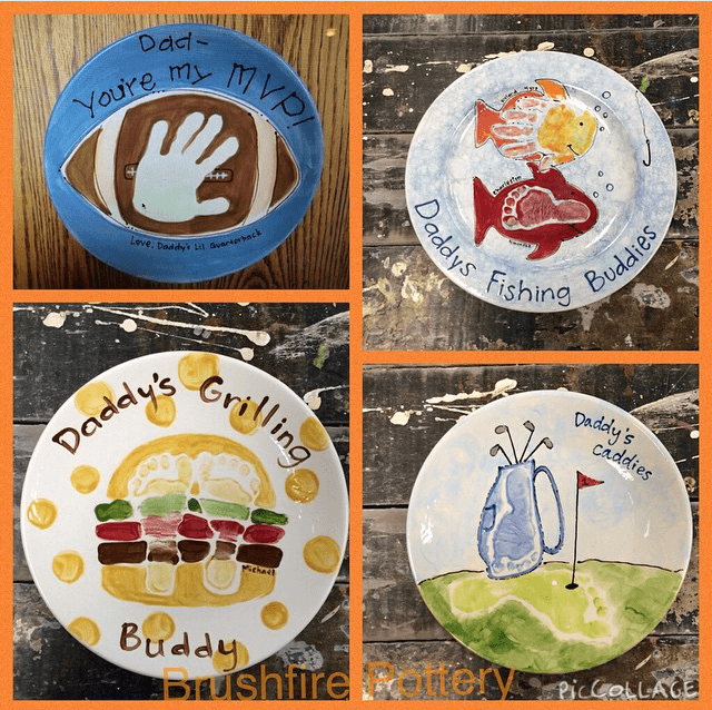 We Ve Put Together 5 Great Paint Your Own Pottery Ideas To Inspire Your Father S Day Gift Idea Fathers Day Crafts Diy Father S Day Gifts Paint Your Own Pottery