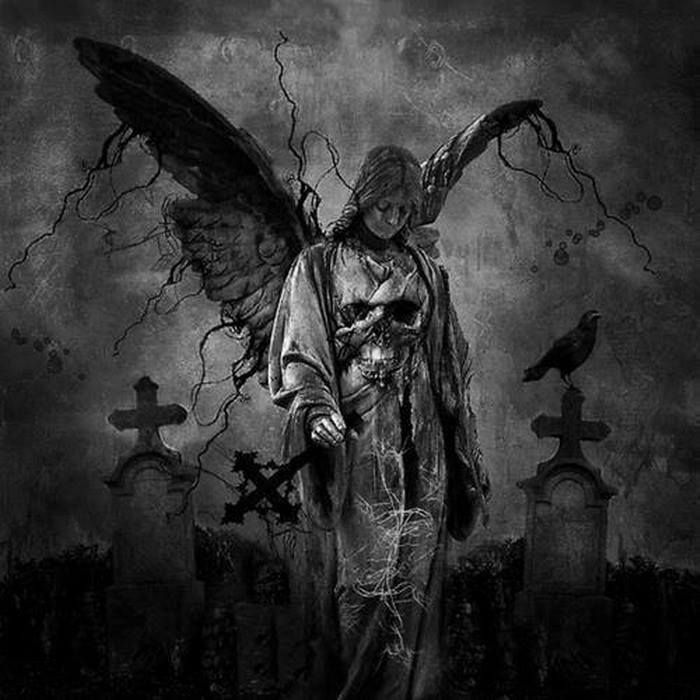 Friedhof Tattoo Sensenmann Dunkle Kunst 7
