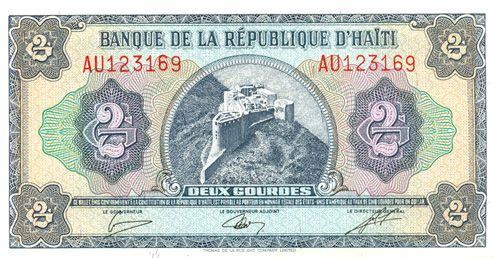 006 money typography Money, Haiti, Coins
