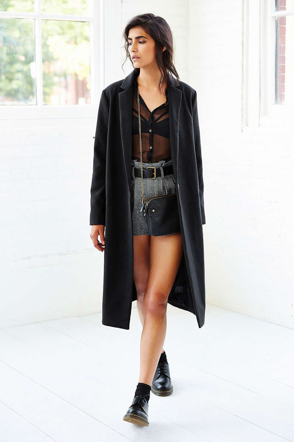 Kimchi Blue Cozy Mid-Calf Duster Coat - Urban Outfitters