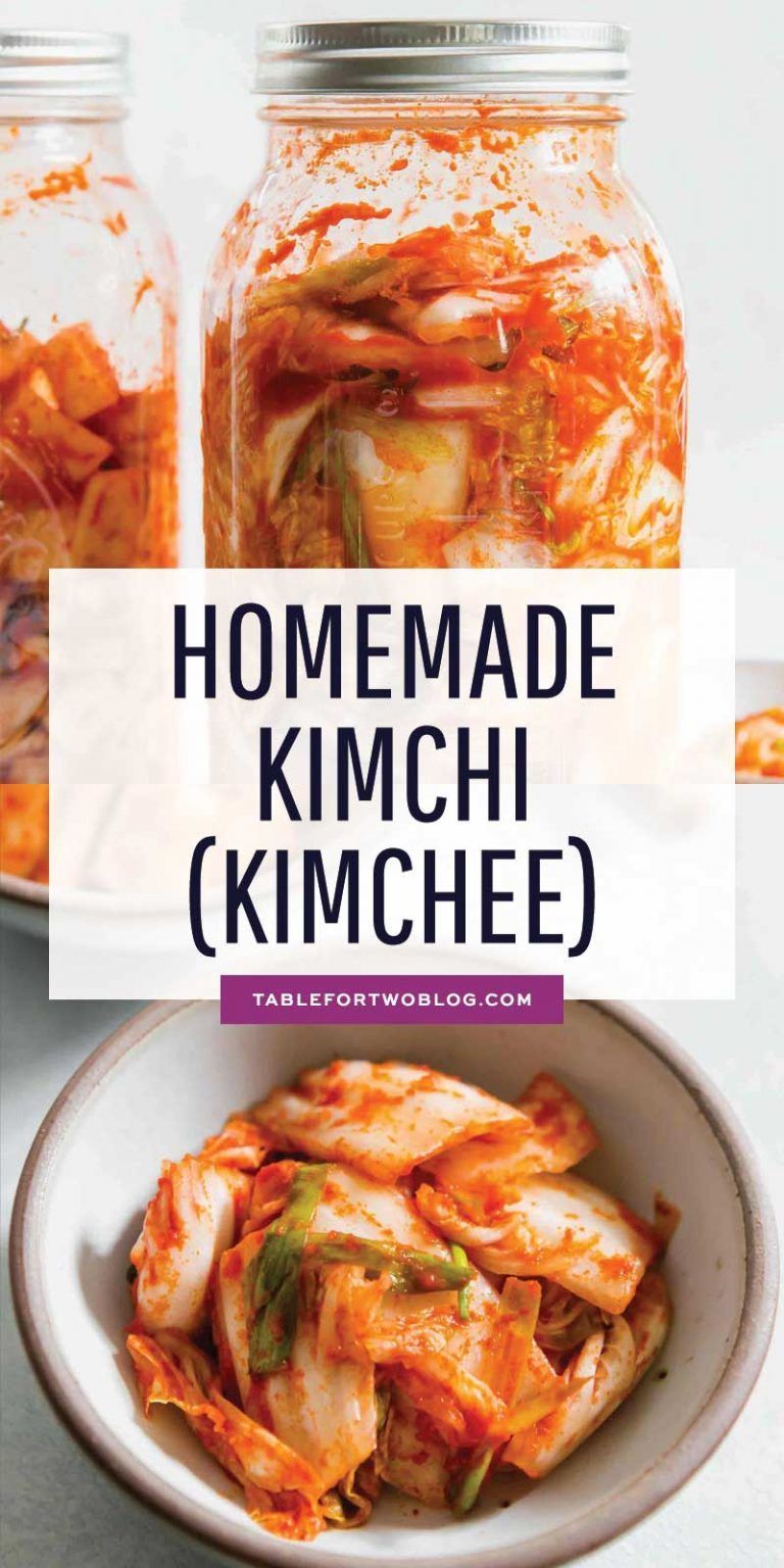 How to Make Homemade Kimchi (Kimchee) - Making Kim
