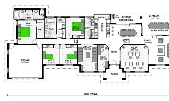 Image Result For Acreage Style Floor Plans Australia House Plans Australia House Stroud Homes
