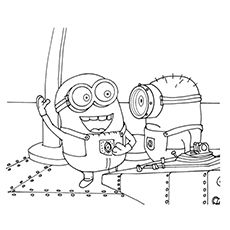 35 Cute Minions Coloring Pages