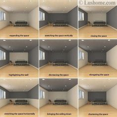 Photo of Dark Room Colors and Vibrant Wall Paint Changing Interior Dimensions Visually