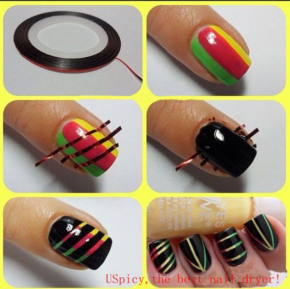 all simple but beautiful nail art designs to design new nail art in 3 strike