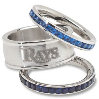 Baseball jewelry for Tampa Bay Rays fans