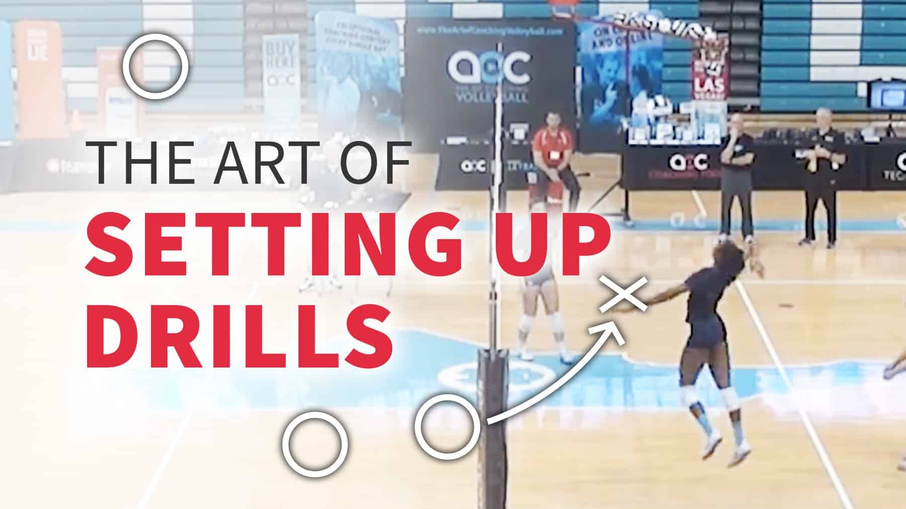 The Art Of Setting Up Drills Coaching Volleyball Volleyball Drill